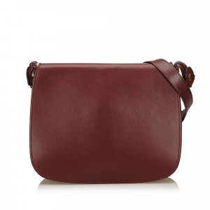Cartier Leather Must de Cartier Shoulder Bag