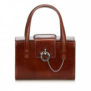 Cartier Leather Panthere Handbag