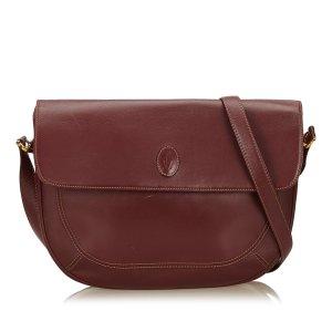 Cartier Leather Shoulder Bag