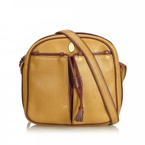 Cartier Leather Tasseled Must de Cartier Crossbody Bag
