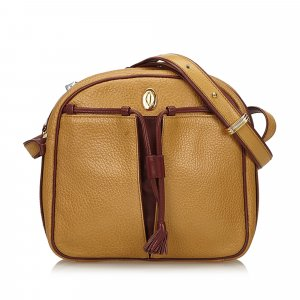Cartier Crossbody bag beige leather