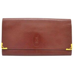 Cartier Bag bordeaux leather