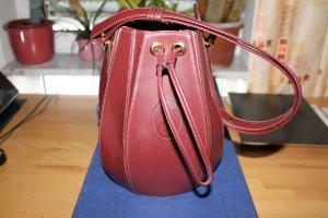 Cartier Lederbeutel / Handtasche im ausgezeichneten Zustand!