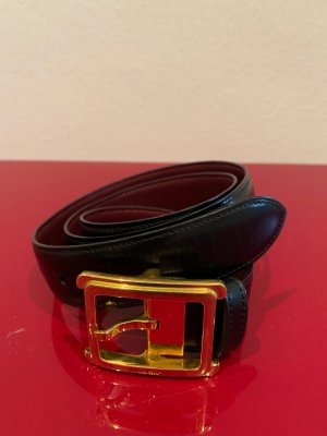 Cartier Leather Belt black leather