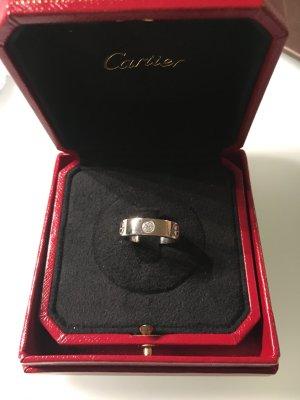 Cartier Love Ring mit 3 Diamanten