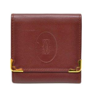 Cartier Wallet bordeaux leather