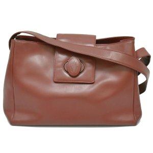 Cartier Handbag bordeaux leather