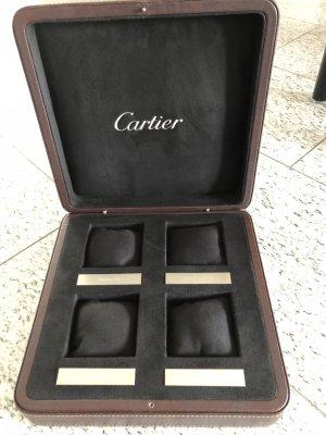Cartier org. Uhrenbox für 4 Uhren