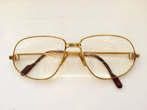 Cartier Paris 140, Vintage Brille, 1988, gold frame
