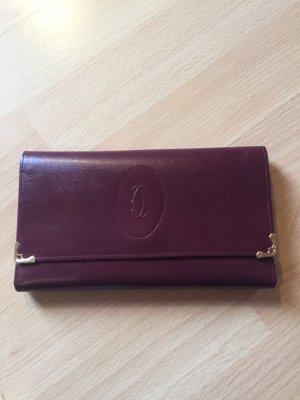Cartier Wallet brown red