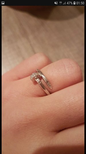 Cartier Ring 925 Silber