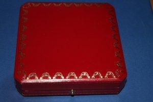 Cartier (Schmuck-)Box / Schatulle für Broschen, Ringe, Kettchen