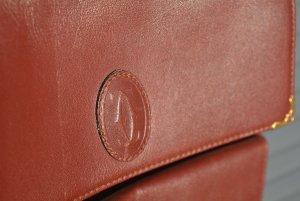 Cartier Shoulder Bag bordeaux