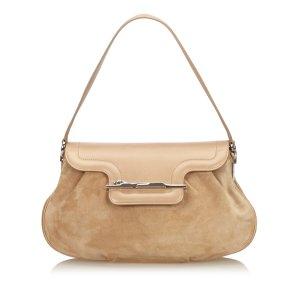Cartier Suede Leather Baguette