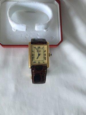 Cartier Tank vermeil 925 er Silber vergoldet