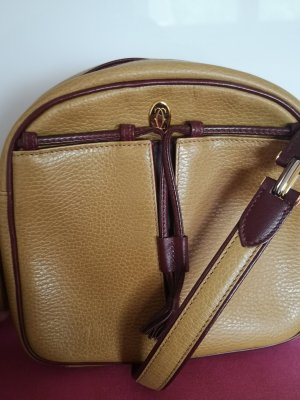 Cartier Sac bandoulière brun sable-bordeau