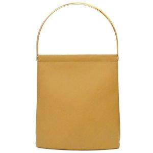 Cartier Shoulder Bag beige leather
