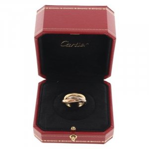 Cartier Gold Ring gold-colored-light grey real gold