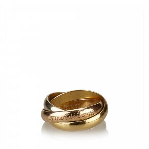 Cartier Ring gold-colored real gold