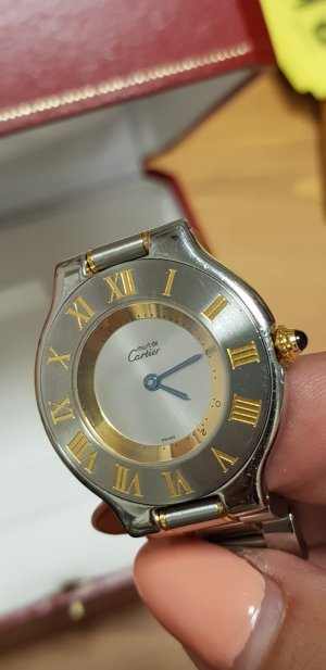 Cartier Orologio argento-oro
