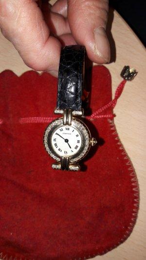 Cartier Uhr mit Diemanten