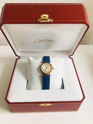 Cartier Vermeil Uhr