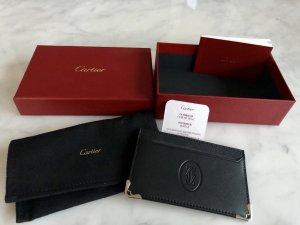Cartier Tarjetero negro