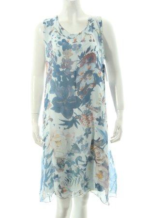 Cartoon A-Linien Kleid florales Muster klassischer Stil