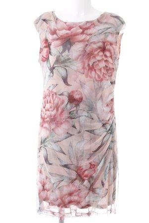 Cartoon Abendkleid florales Muster klassischer Stil