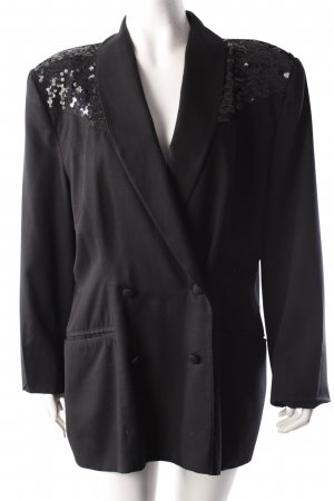 Cartoon blazer with sequins