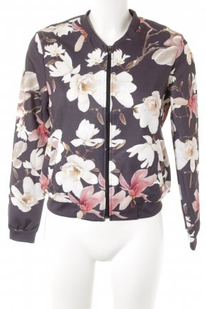 Cartoon Blouson flower pattern elegant