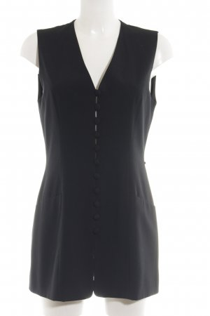 Cartoon Blouse Dress black business style