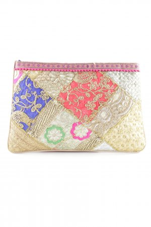 Cartoon Clutch florales Muster Street-Fashion-Look