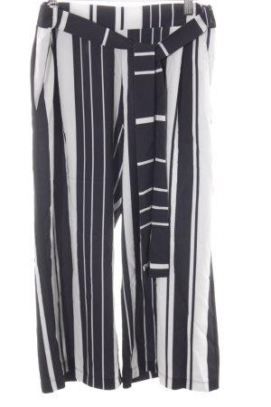 Cartoon Culottes zwart-wit gestreept patroon casual uitstraling