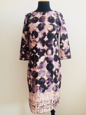 Betty Barclay Robe stretch rosé-noir polyester