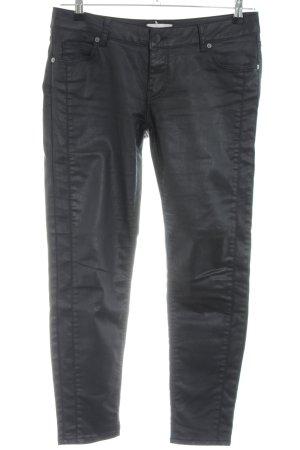 Cartoon Five-Pocket Trousers black casual look