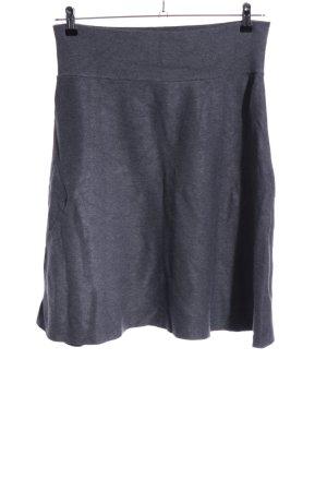 Cartoon Flared Skirt light grey flecked casual look