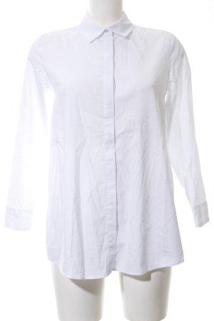 Cartoon Hemd-Bluse weiß Elegant