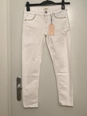 Cartoon Jeans skinny bianco