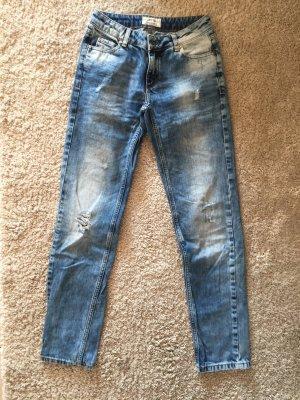 Cartoon Jeans schöne Blautöne