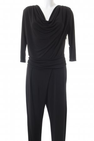 Cartoon Jumpsuit schwarz Elegant