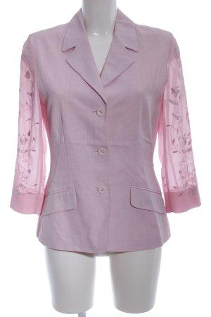 Cartoon Short Blazer pink elegant