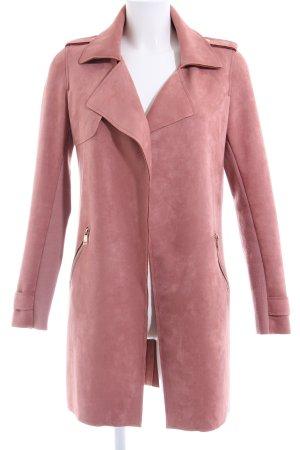 Cartoon Long Blazer pink casual look