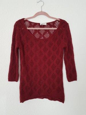 Cartoon pullover croched Häkelpullover