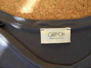 CARTOON Shirt , blau, 3/4 Arm