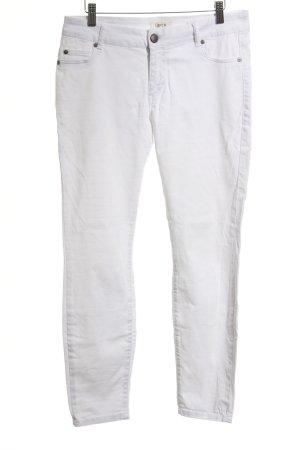 Cartoon Skinny Jeans weiß Casual-Look