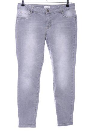 Cartoon Jeans slim gris clair style décontracté
