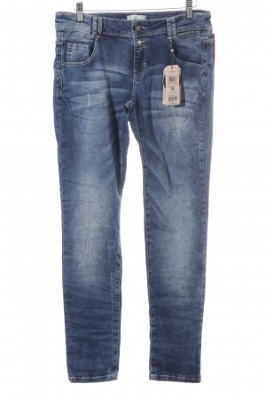 Cartoon Slim Jeans blau Casual-Look