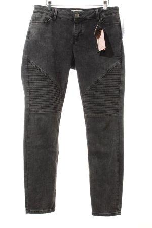 Cartoon Slim Jeans dunkelgrau Casual-Look