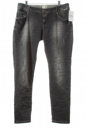 Cartoon Slim Jeans grau Street-Fashion-Look